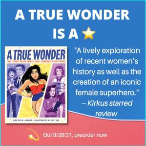 Kirkus says A TRUE WONDER is a star.